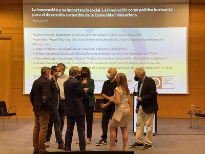 Imagen Debate 1 Círculo Estudios Innovación