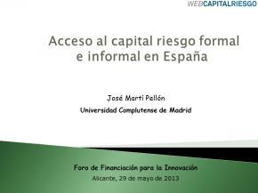 portada ponencia Venture Capital