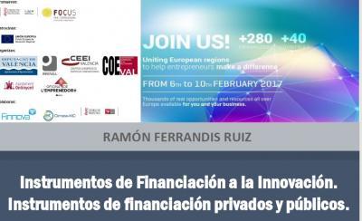 Instrumentos de financiación privados y públicos (ICO, CDTI y ENISA)