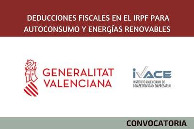Deducciones fiscales en el IRPF para autoconsumo y energías renovables