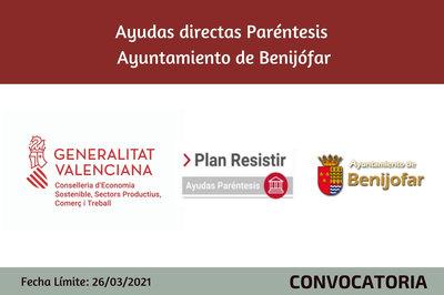 Ayudas Económicas Covid 19 - Ayuntamiento de Benijofar