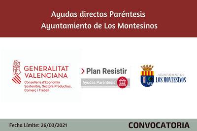 Ayudas Económicas Covid 19 - Ayuntamiento de Los Montesinos