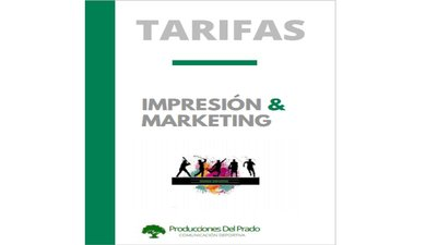 TARIFAS. PROD. DEL PRADO