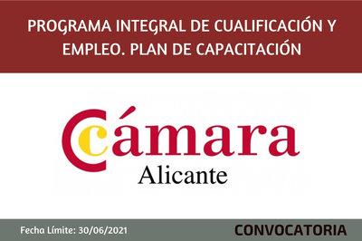 Programa Integral de Cualificación y Empleo. Plan de Capacitación